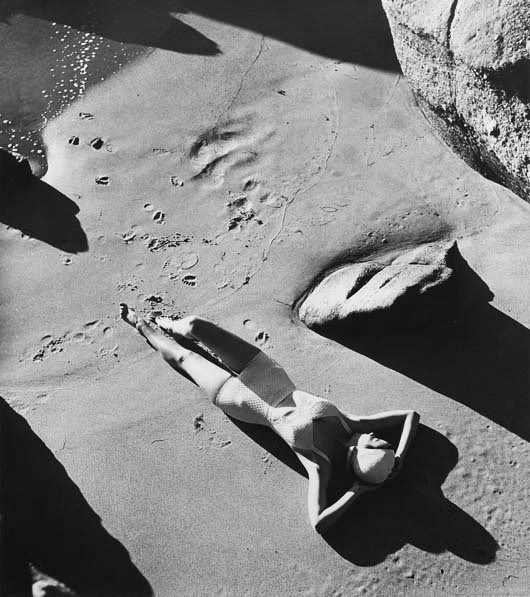 Louise Dahl-Wolfe. Rubber Bathing Suit California 1940.