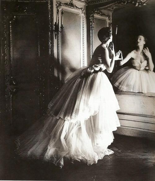 Louise Dahl-Wolfe BallGown Christian Dior.