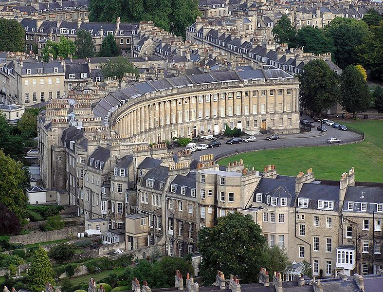 Royal Crescent. Bath.