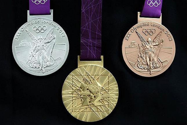 Olympic Medals London 2012.