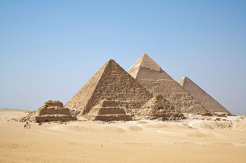 The Pyramids photographed by Ricardo Liberato.