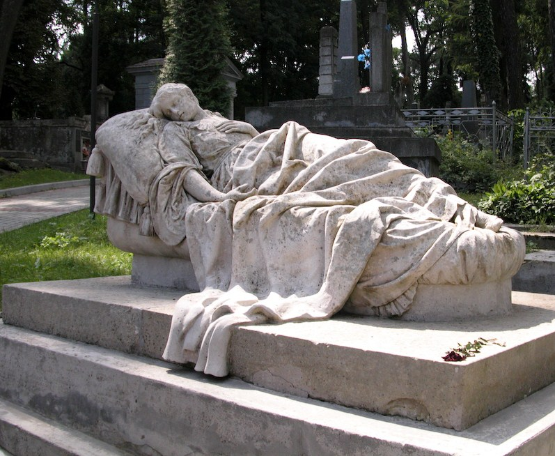 Tomb sculpture Lychakiv Cemetery