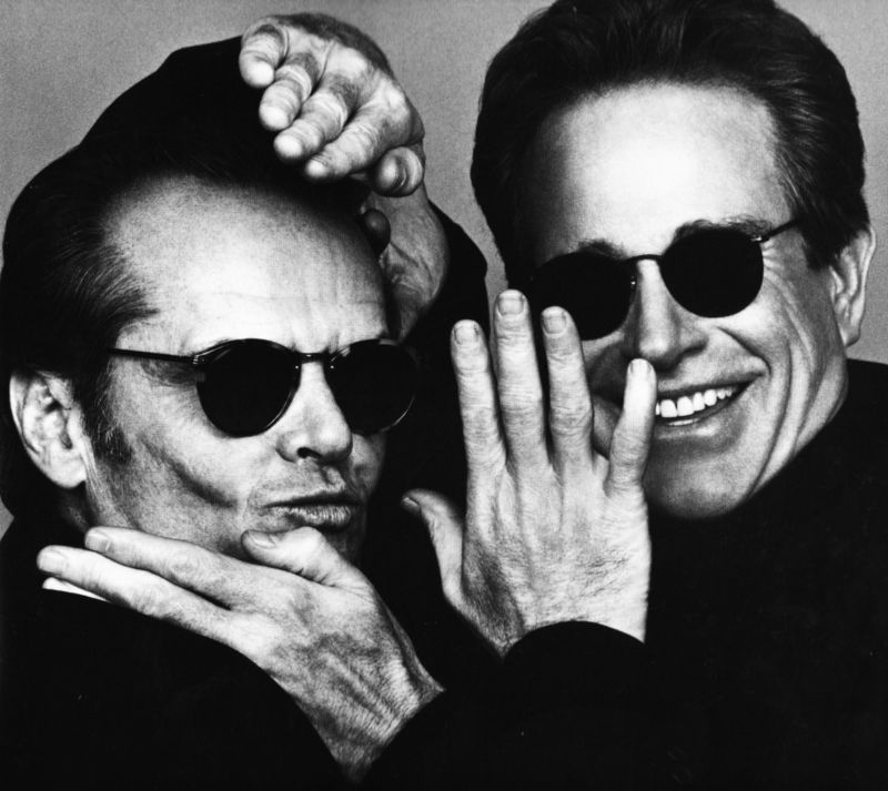 Herb Ritts Jack Nicolson amd Warren Beatty