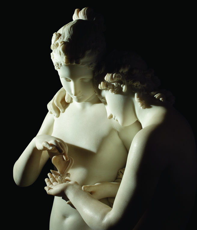 Cupid and Psyche by Antonio Canova (1797)