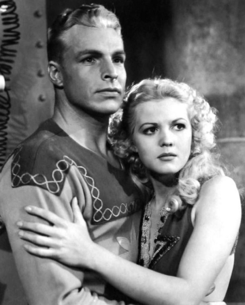 Flash Gordon 1936 Jean Rogers Buster Crabbe