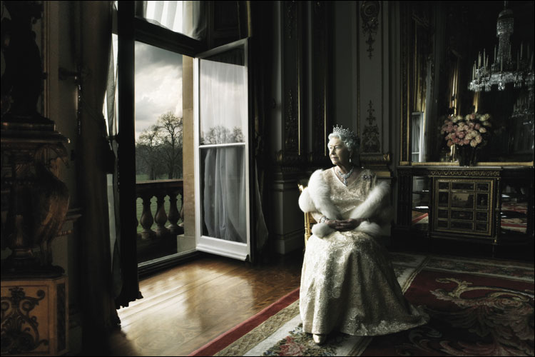 The Queen by Annie Leibovitz
